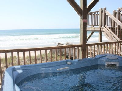 Surf City house rental - View from the hot tub
