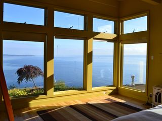 Bainbridge Island house photo - morning views from the master bedroom