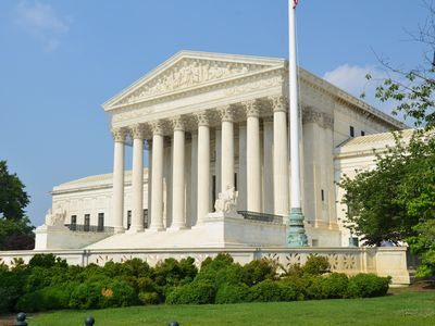 The U.S. Supreme Court is only 8 blocks away
