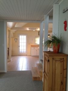 Niantic house rental - Entering kitchen