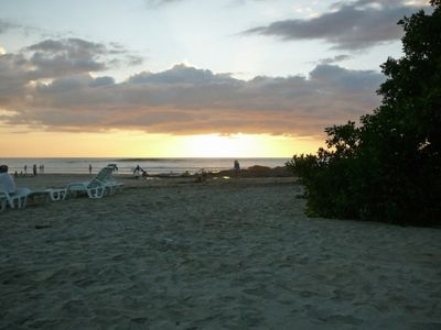 Playa Langosta Sunset