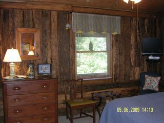 Meadows of Dan cabin photo - Q Bedroom with a Mountain View, TV & Private Bath
