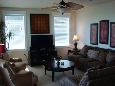 Relax in Luxury in our Cozy Living Room