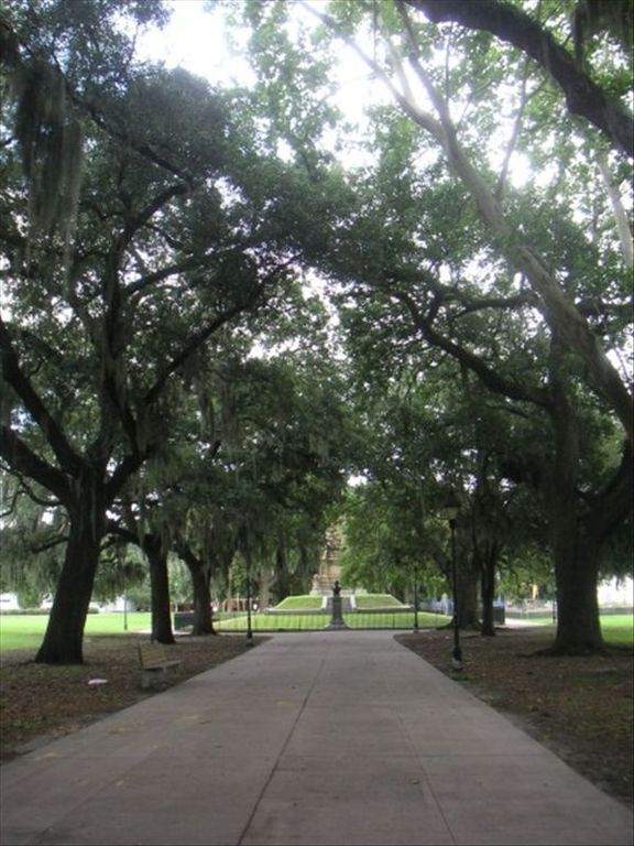 Forsyth park is only steps away!
