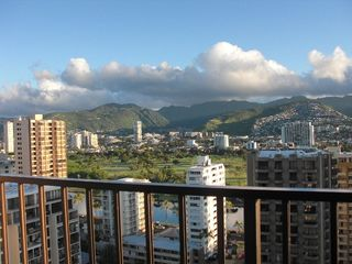 Honolulu condo photo - Great mountain and golf course view