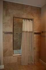 Branson house photo - Master Shower & Tub