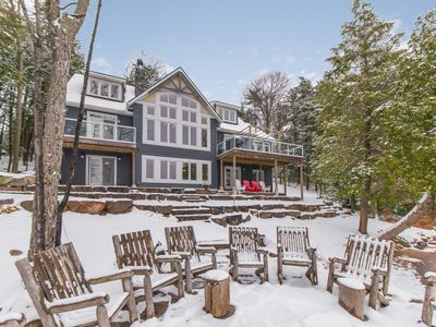 The Beach House in the Winter!