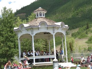 Durango condo photo - Old fashioned brass band in the town park in Silverton on the 4th of July !