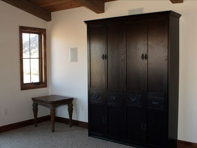 Virgin - Zion National Park house rental - This is a wall bed up stairs in the bonus room....we have a total of 5 beds
