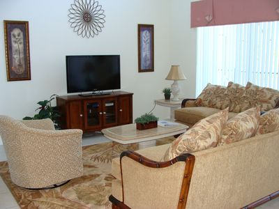 New Family Room With LCD TV