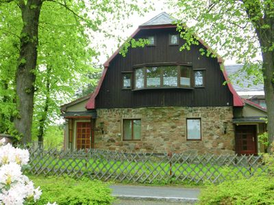 Spacious group home in the beautiful Erzgebirge, close to the forest