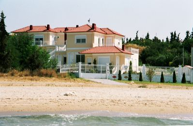Seaside Holiday Homes On A Long Sandy Beach In Greece - Ground Floor No 1