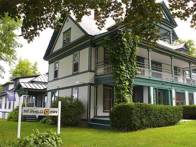Mt. Philo Inn:  The privacy, tranquility and spaciousness of a home in the country, with the amenities of a boutique hotel.