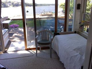 Muskegon cottage photo - Best Bed and View in the house