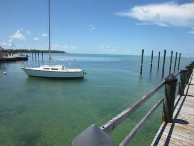 This is your backyard-nothing like the waters of the Florida Keys!