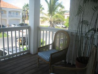 South Padre Island house photo - Front deck (great view of summer SPI fireworks!)