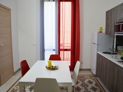 APARTMENT FOR 2 PEOPLE, 500 mt from the beach and few steps away from the harbor