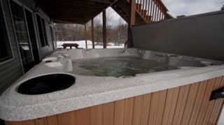 Lake Harmony Area house photo - Hot tub