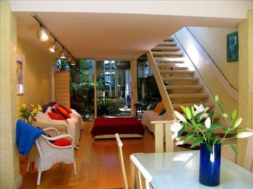 Surry Hills house rental - Looking from the Diningroom into the Livingroom