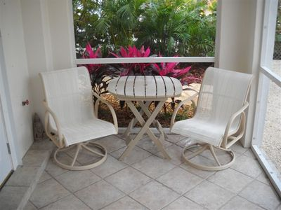 Key Largo apartment rental - Patio