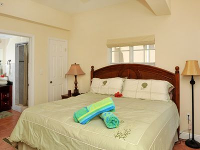 Cruz Bay condo rental - Comfortable King bed