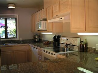 Port Ludlow condo photo - Fully equipped kitchen with granite counters