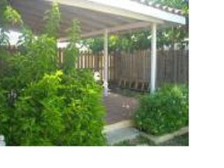 Montego Bay townhome photo - Back porch