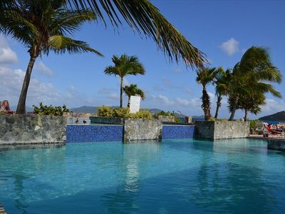 East End condo rental - Beautiful multi-level pool at Sapphire Beach