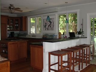 Jamestown (Conanicut Island) house photo - Open concept, gourmet kitchen with breakfast bar