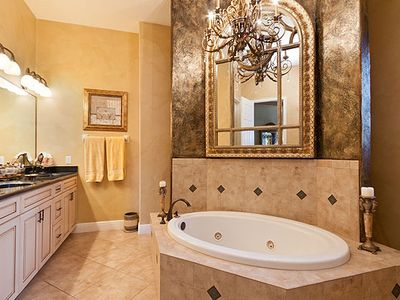 Roman Jacuzzi Tub - Walk In - His and Hers Shower Room