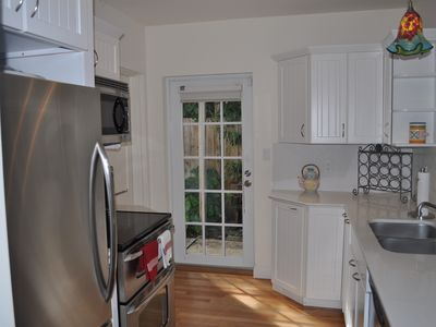 Alternate view of kitchen with appliances