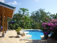 Custom Eco Home, Very Private, Pool, Ocean View. from $149 per night.