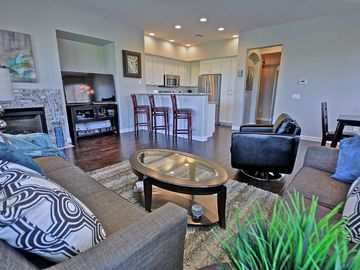 Other Scottsdale Properties townhome rental - Living room view to kitchen