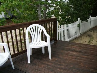 Surfside Beach cottage photo - Private deck off Master
