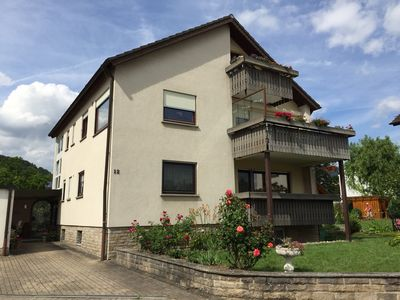 Apartment in Quiet location, family-friendly, with proximity to the Tauber Valley Cycle