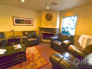 Park City condo photo - Cozy Lobby with fireplace