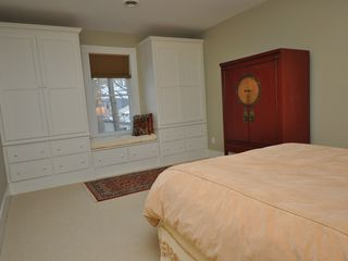 Lenox house photo - Built-ins feature loads of storage and window seats