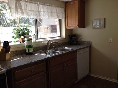 Brand new kitchen with new granite countertops