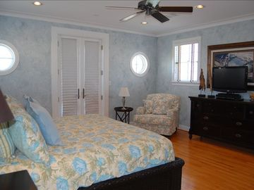 Master Bedroom with private balconey