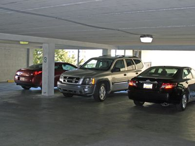 Covered Parking. Walk to Private entrance or use the elevator.