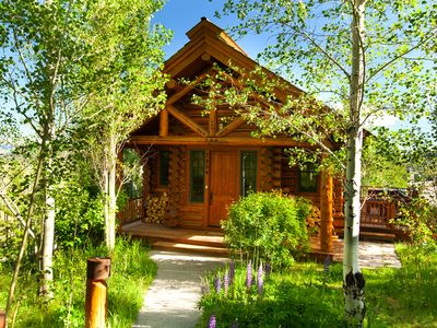 Quietly surrounded by mature aspens & pines, 350 yards from Four Seasons