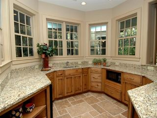 Cashiers estate photo - Lower Level Entertainment Kitchen with Granite Countertops