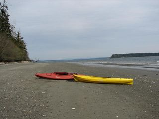 Port Ludlow house photo - Long, sandy beach; kayaks for guest use