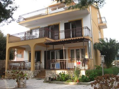 image for Peacefully located vacation home with a balcony and patio, 30m from the beach