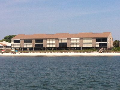 View of our building from Gulf.