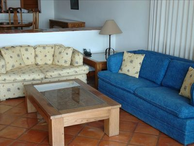 La Paz condo rental - Living Room