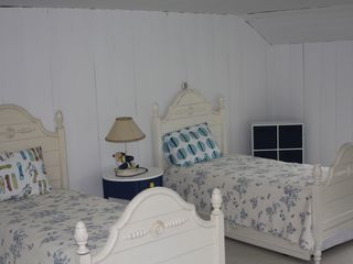 Gloucester - Annisquam house photo - 2 trundle beds in a back bedroom on the second floor.