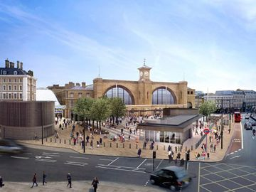 Kings Cross station - 3 minutes walk
