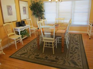 Isle of Palms house photo - Spacious Dining Room with seating for 8-10