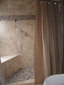 Full Tile Shower in Master Bathroom